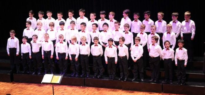 Audition for the National Boys Choir of Australia