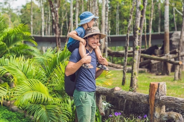 Father's Day Breakfast or Lunch at Melbourne Zoo