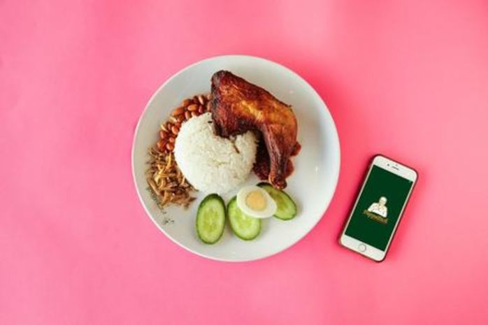 Free Nasi Lemak at QV Melbourne