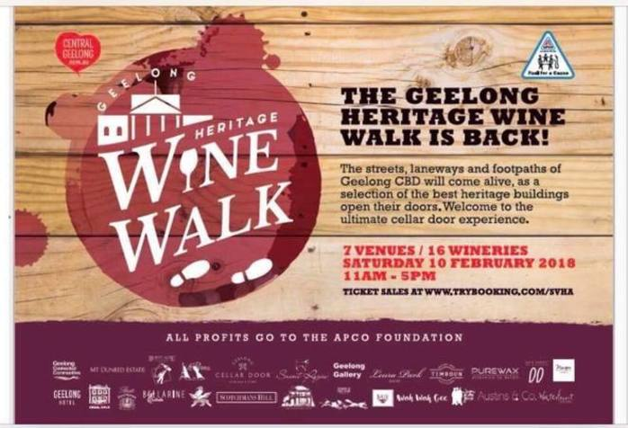 Geelong Heritage Wine Walk - Geelong