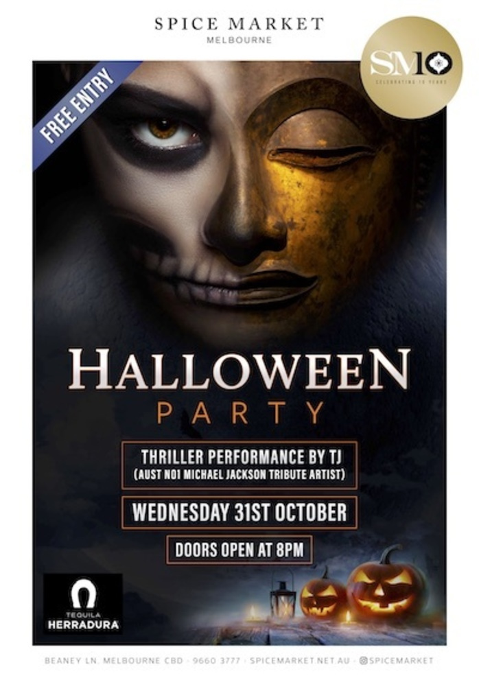 Halloween Party at Spice Market