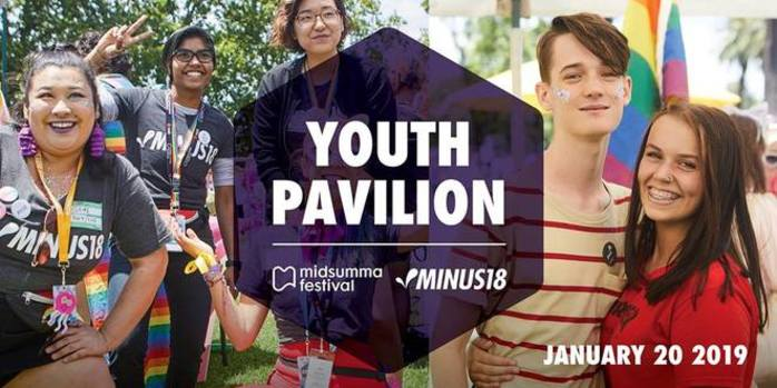 Minus 18 x Midsumma Youth Pavilion 2019