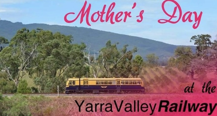 Mother's Day at the Yarra Valley Railway