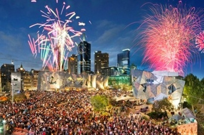 New Year's Eve at Fed Square