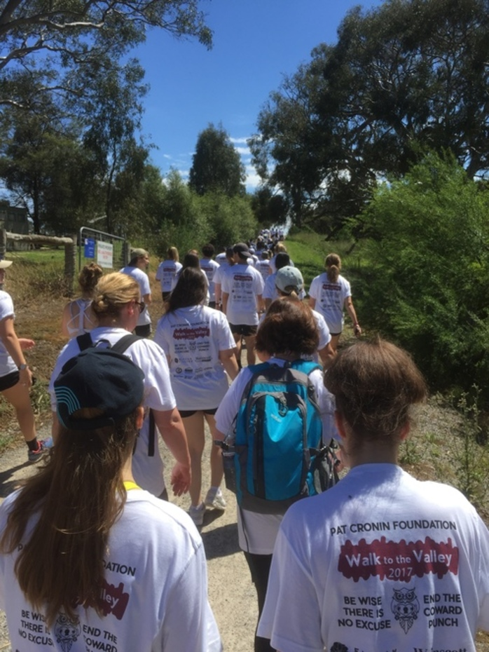 Pat Cronin Foundation - Walk to the Valley 2018