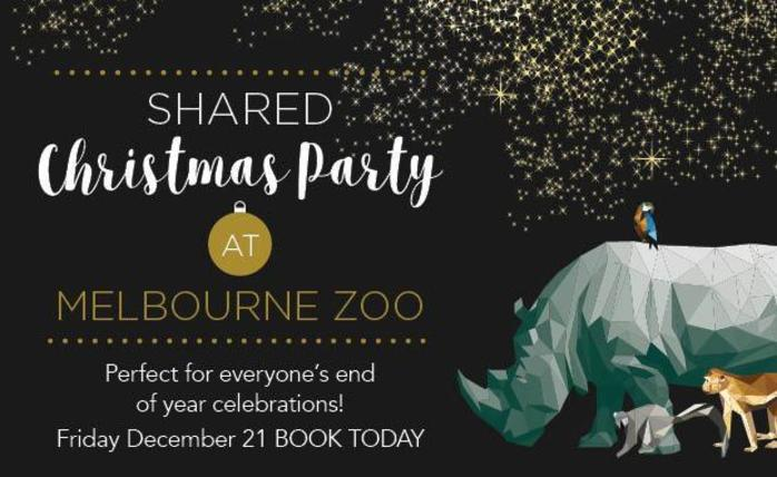 Shared Christmas Party at Melbourne Zoo