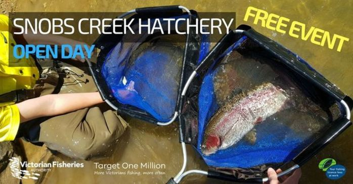 Snobs Creek Hatchery Open Day 2018