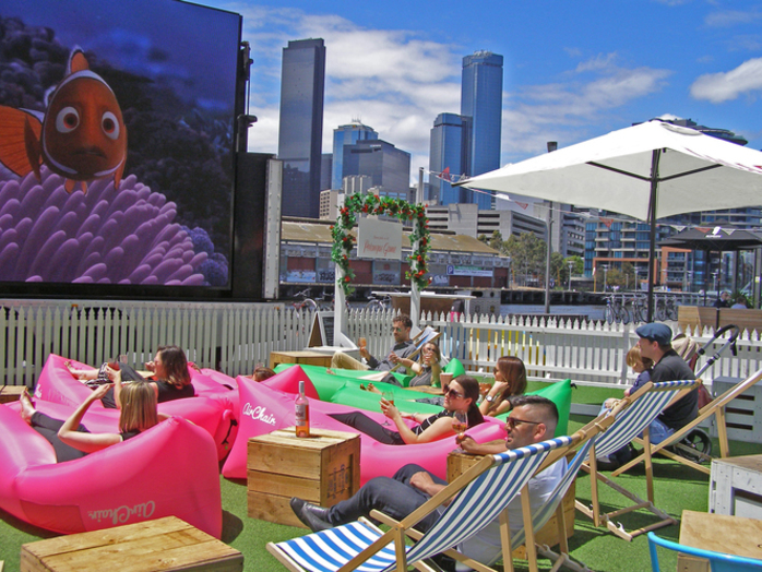South Wharf Pop-Up Cinema