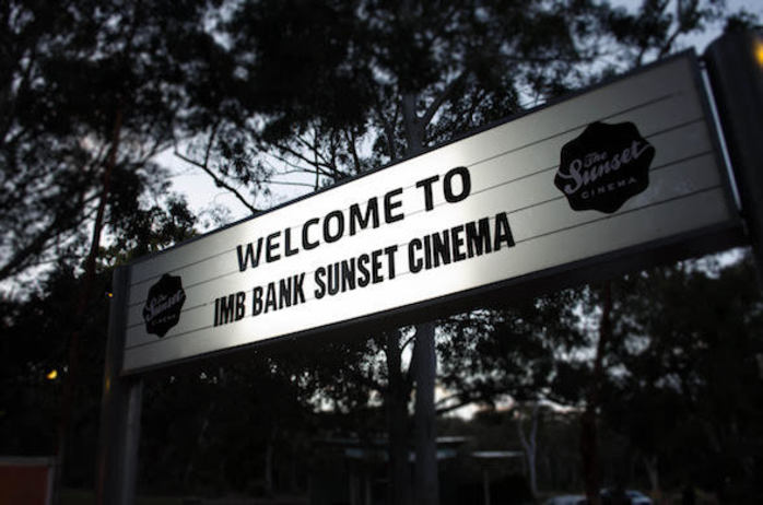 Sunset Outdoor Cinema Melbourne