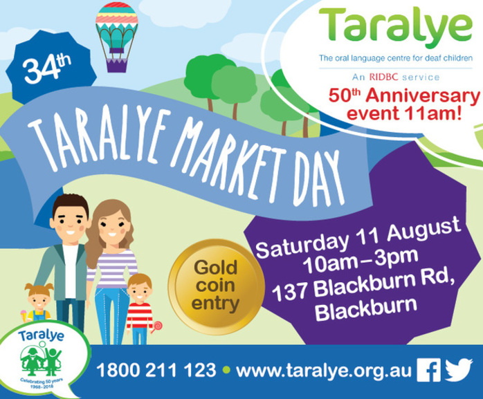 Taralye's 34th Market Day 50th Anniversary