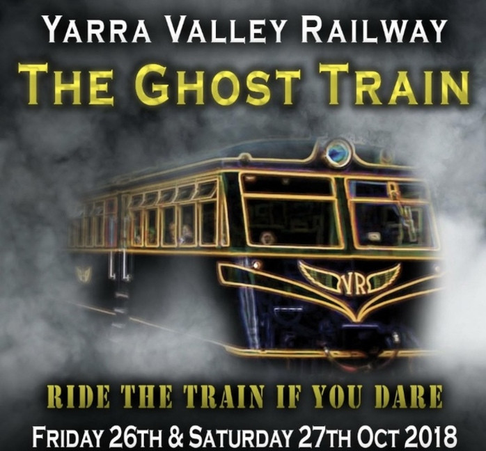 The Ghost Train at Yarra Valley Railway