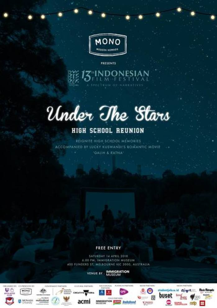 Under The Stars - Indonesian Film Festival 2018